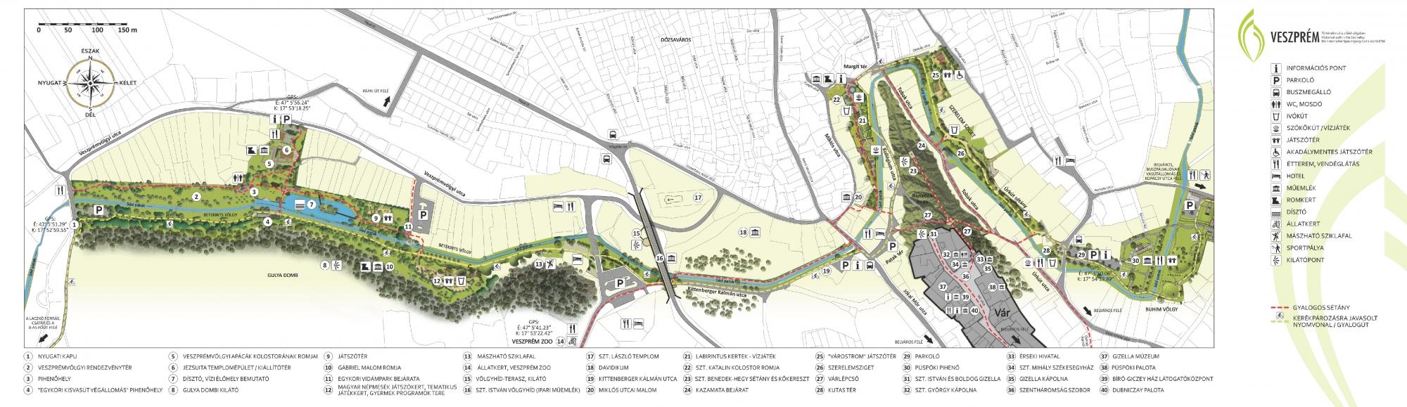 séd patak térkép Kolostorok és kertek – Veszprémvölgy | Belváros Apartman Veszprém